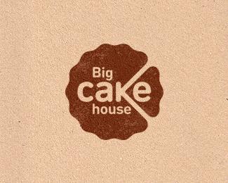 Big Cake House Logo Design Inspiration Logo Design Inspiration