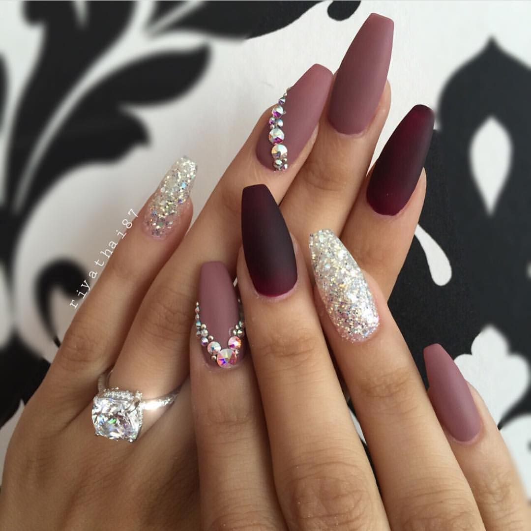 Gorgeous Nail Art Riyathai87 Hudabeauty Jewelednails Al Amin