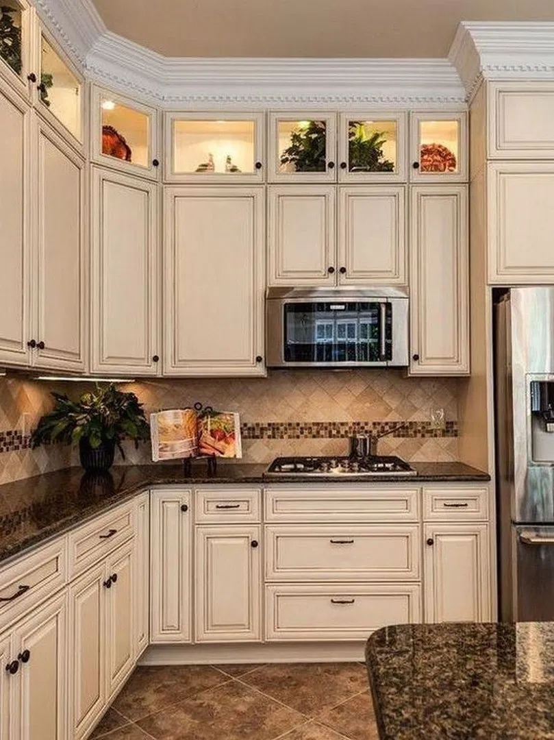 50 Awesome Antique Kitchen Decoration Ideas For Your Beautiful