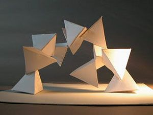 intersecting planes sculpture. three dimensional design syllabus intersecting planes sculpture