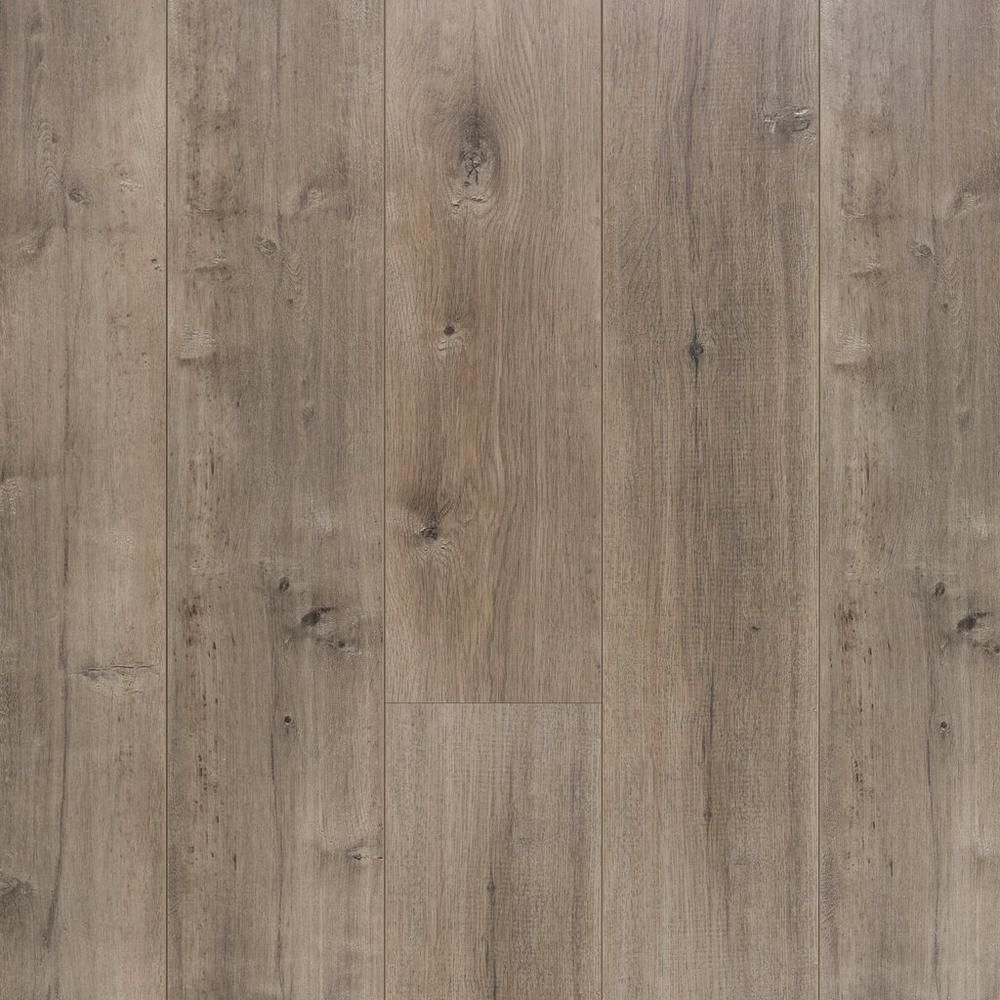 East Hampton Gray Ash Laminate 12mm 100493113 Floor And Decor Grey Laminate Flooring Flooring Brown Laminate Flooring