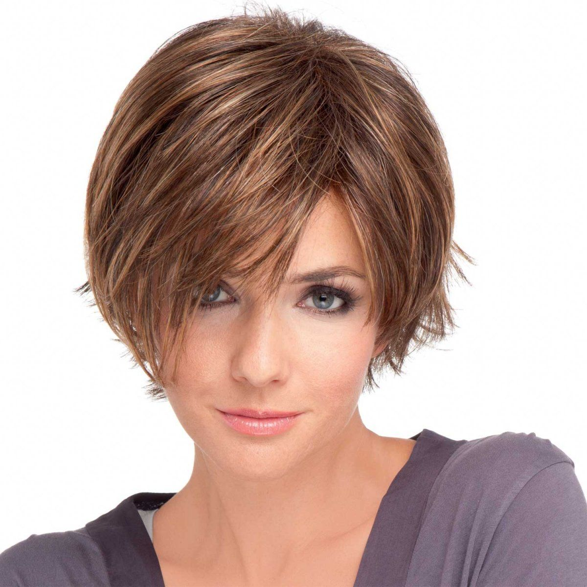 Party wig (shown in colour Hazelnut Mix) Bob hairstyles