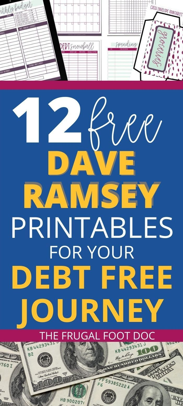 Free Printable Dave Ramsey Budgeting Worksheets, PDFs, and