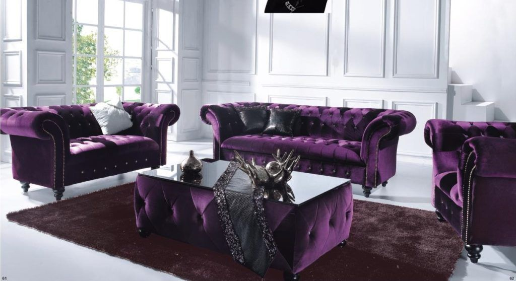 Awesome Purple Sofas 19 For Your Sofa Table Ideas With Purple Sofas