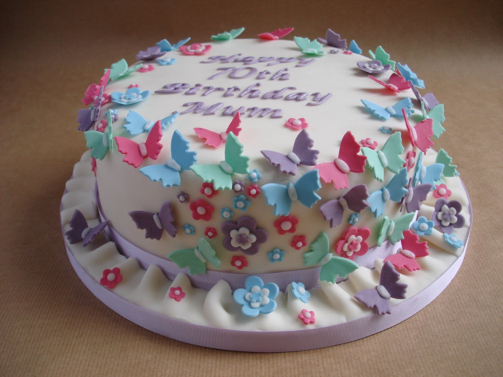Butterfly Cake Recipe Butterfly Cakes