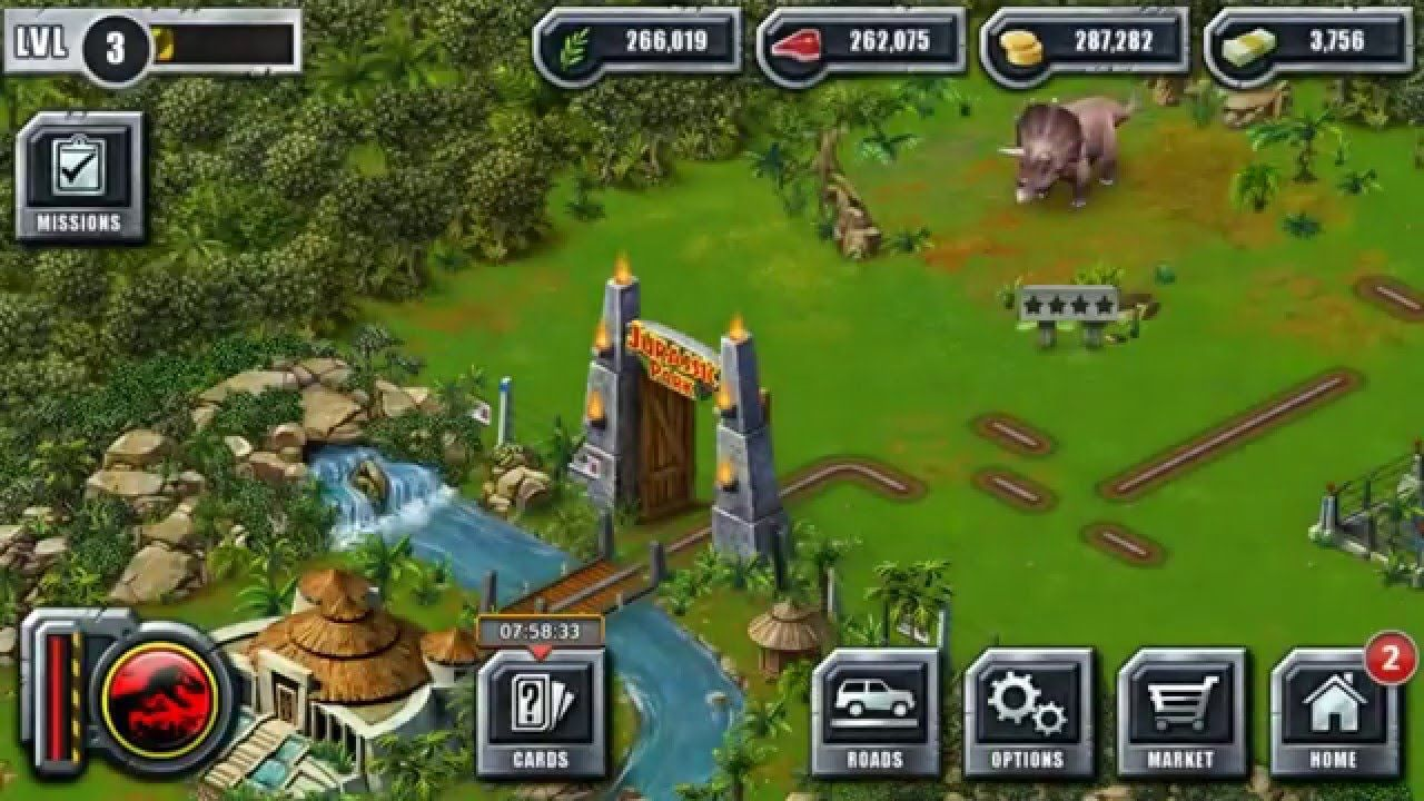 jurassic world the game hack 2018 download