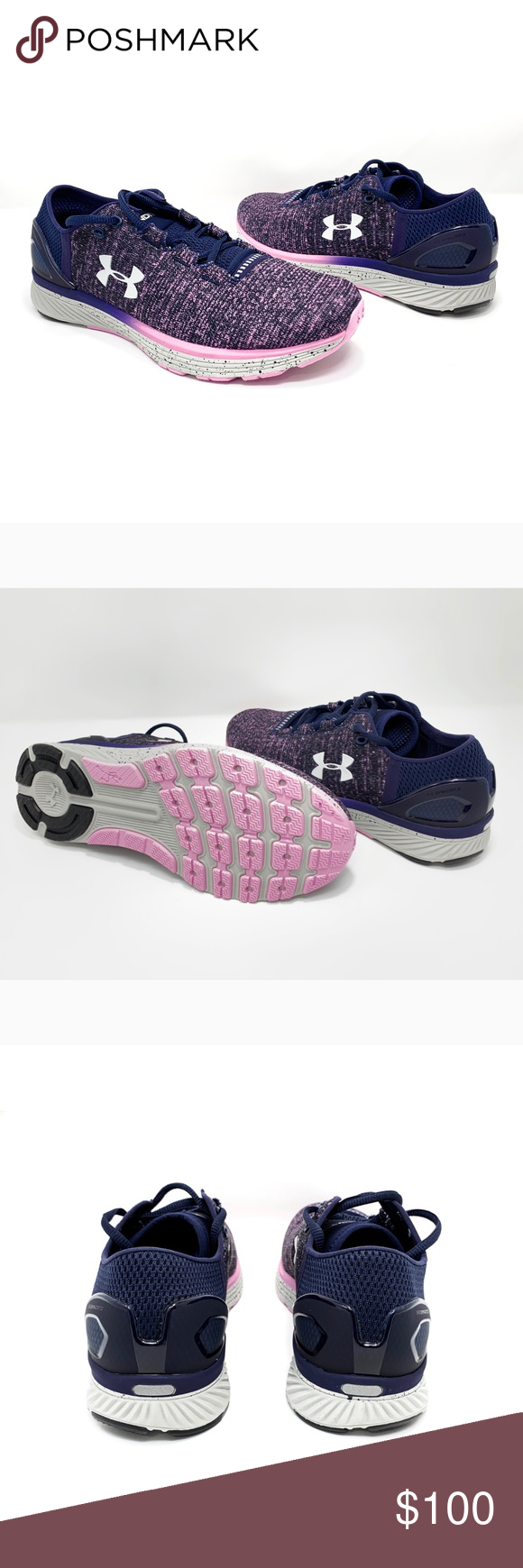 purchase cheap 6c050 3c14b UnderArmour Charged Bandit 3 Womens Running Shoe UNDER ...