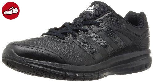 best service b7310 34cef adidas Performance Duramo 6 Lea, Herren Laufschuhe, Schwarz (Black 1Black 1