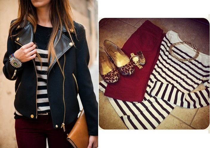 Tips on how to wear maroon pants