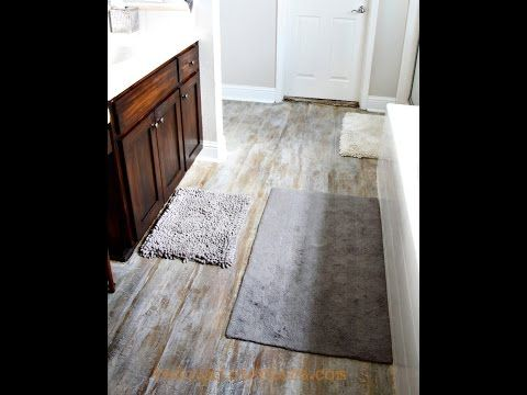 How To Pull Up Carpet And Paint A Subfloor To Look Like