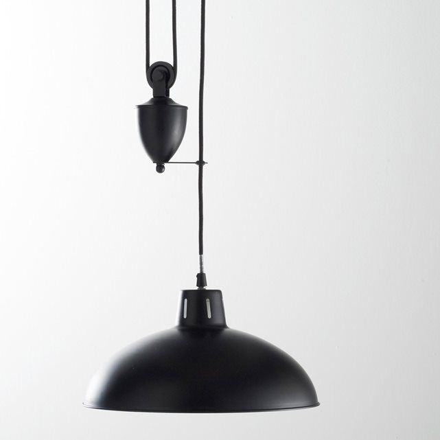 Otra imagen de Lámpara de techo sube y baja de metal Ivano La ...
