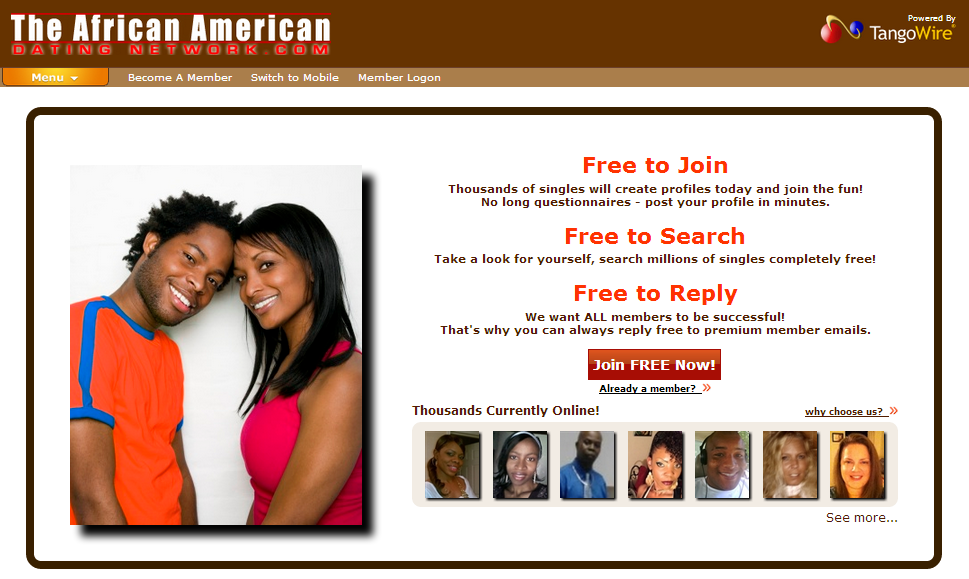 Tangowire gratis dating site