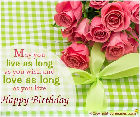 Send these beautiful flowers card wishing lots of love smiles and – Live Happy Birthday Cards