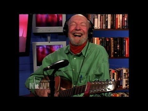 """""""We Shall Overcome"""": Remembering Folk Icon, Activist Pete Seeger in His Own Words & Songs (3 of 3) - YouTube"""