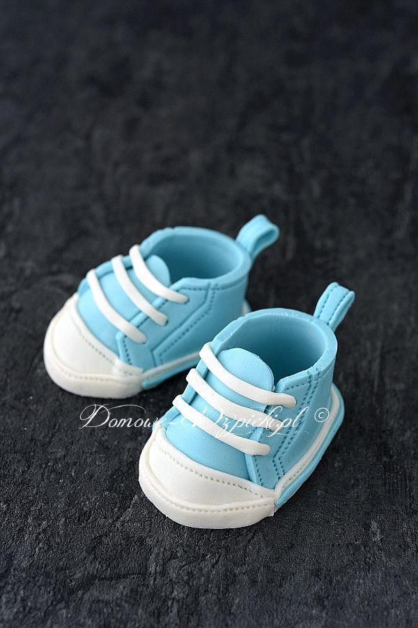 Buciki Na Tort Z Masy Cukrowej Recipe Sneakers Adidas Gazelle Sneaker Baby Shoes