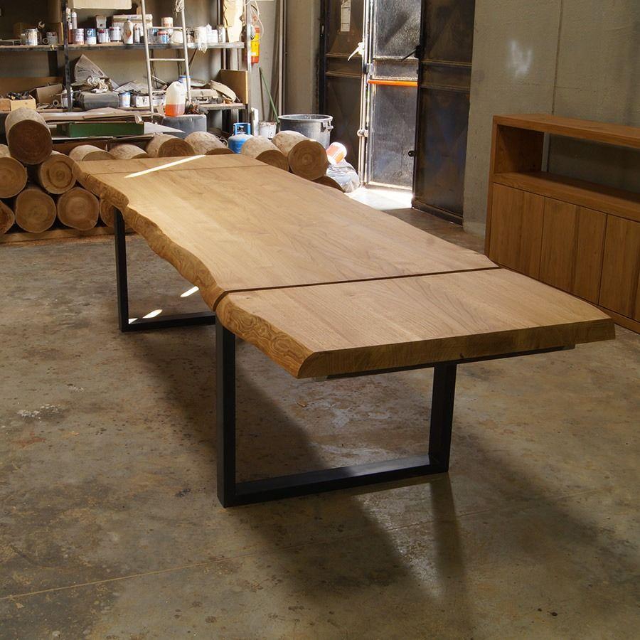 Tavolo legno massello allungabile Tavolo legno