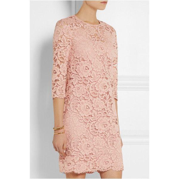 Dkny Lace Mini Dress Pink Womens Size 8 595 Pen