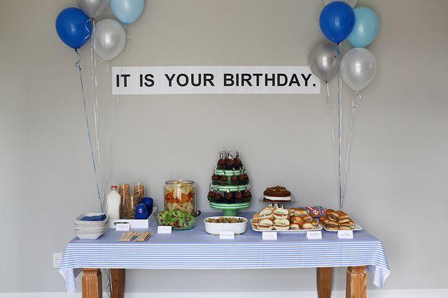 Non Theme Theme 30th Birthday Party By Annieseats Via