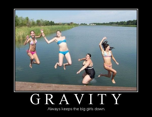 Gravity Gravity Pictures Motivational Posters