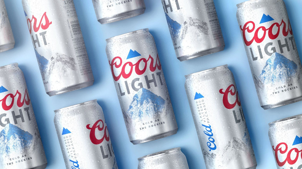 Soulsight Gives Coors Light A More Contemporary Natural Touch Hot Sauce Packaging Coors Light Beer Can Packaging Design Inspiration