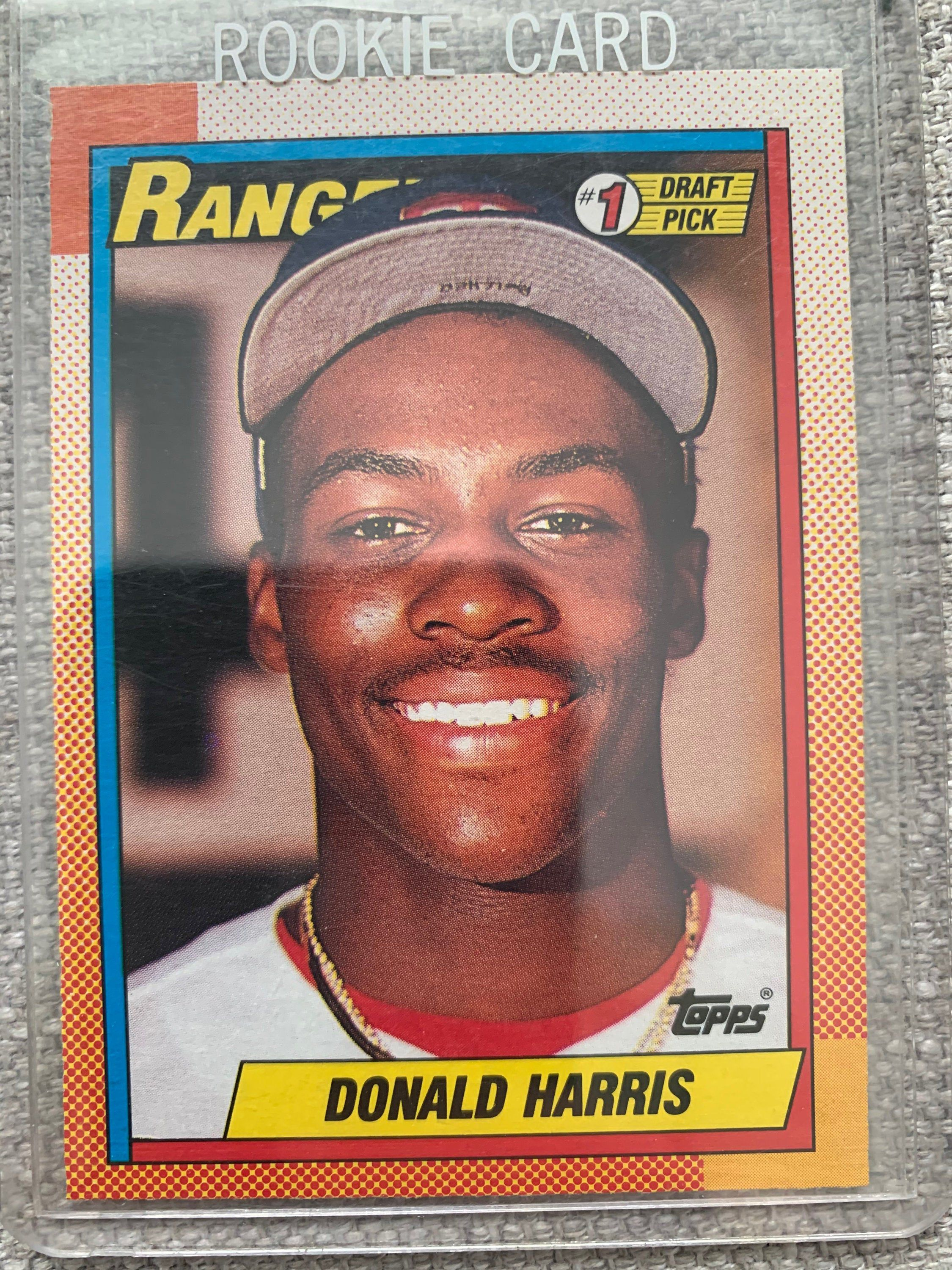 Donald Harris RC Topps 1990 Mint in 2020 Donald, Mint