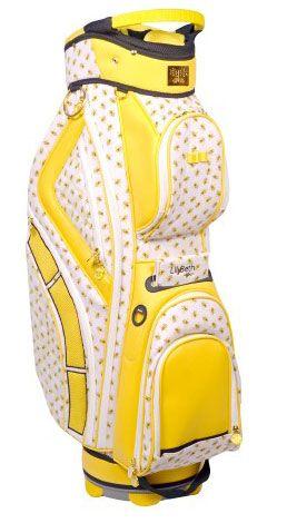 LilyBeth Ladies Designer Golf Cart Bags - Yellow Bumble Bee Lori s Golf  Shoppe 0497d3b767a51