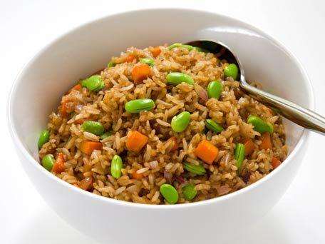 Edamame fried rice recipe edamame fried rice and rice edamame fried rice forumfinder Gallery