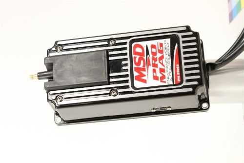 Msd Ignition 81063 Pro Mag Electronic Points Box  Aluminum