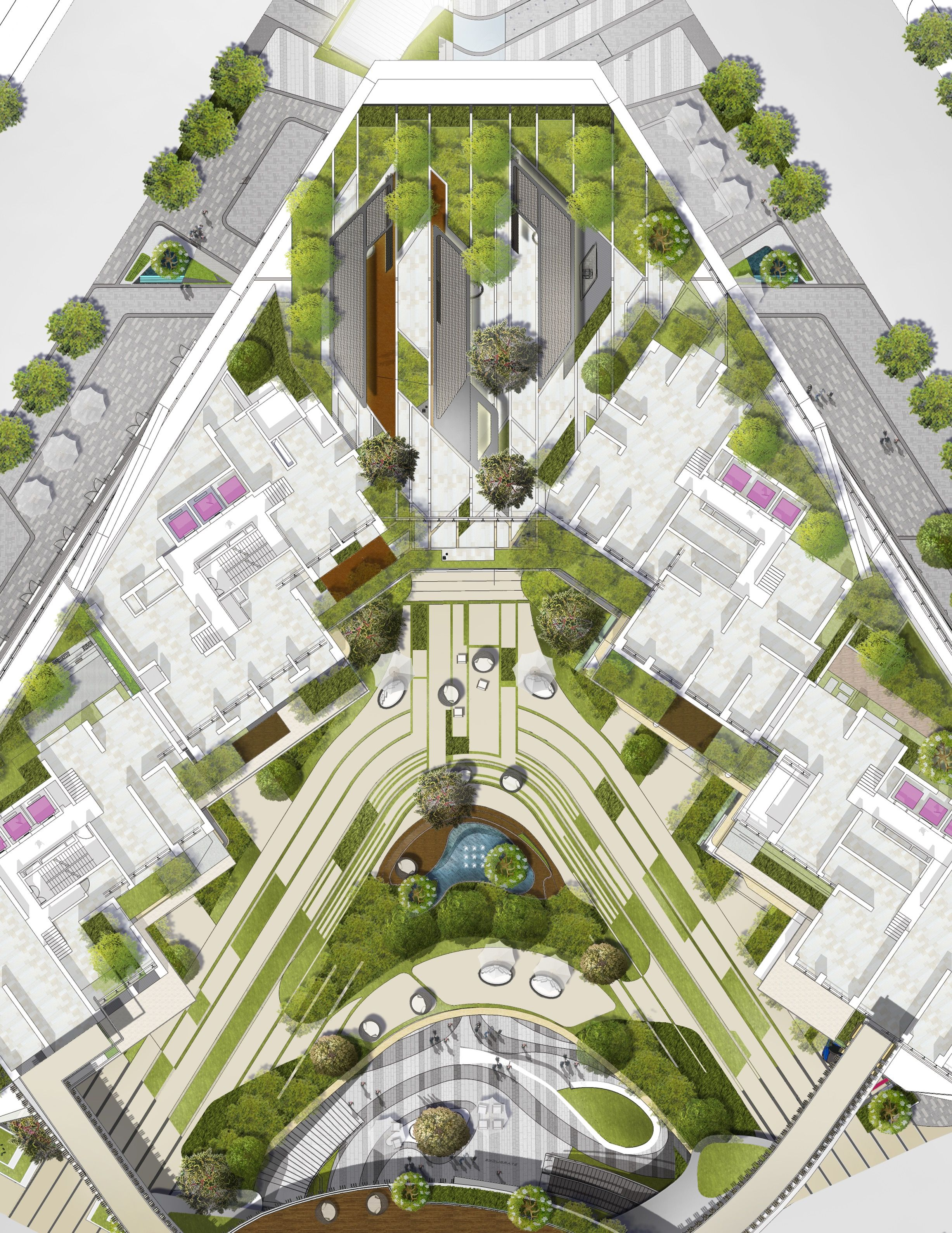 Residential Landscape Design M Oplado 2015 Metrostudio Landscape Architecture Plan Landscape Design Plans Plaza Design