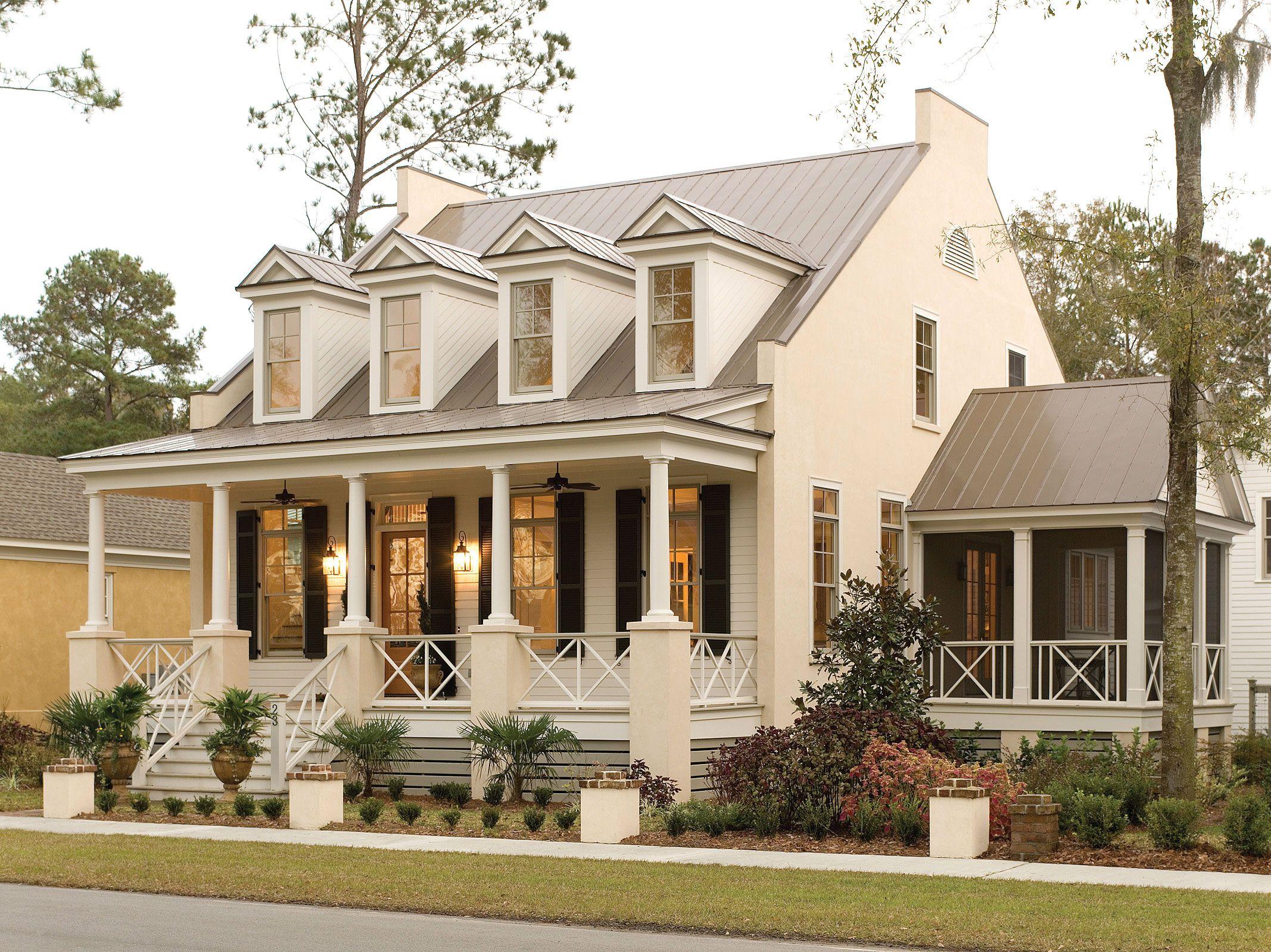 Eastover Cottage Plan 1666 exteriors Pinterest House
