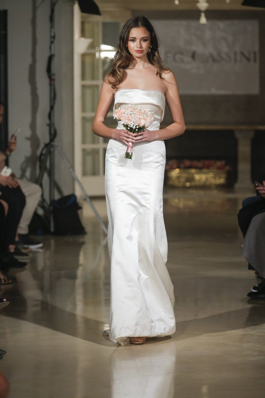 Dress for fall wedding  Oleg Cassini Fall   Bridal Fall   Pinterest  Fall wedding