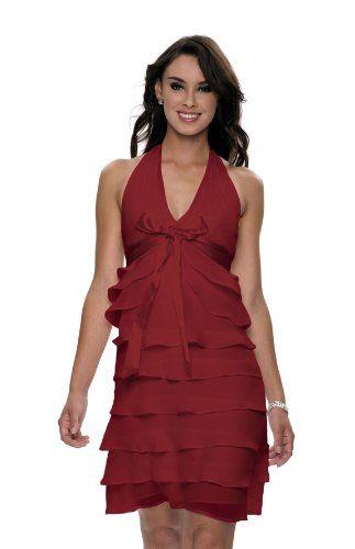 Kleid rot farben