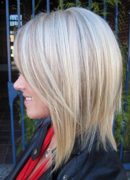 lowlights platinum blonde long