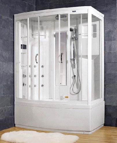 Whirlpool Bath Aromatherapy Steam Shower With Bath Tub |Pinned From PinTo  For IPad|