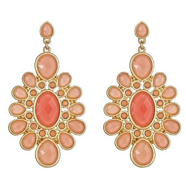 Pack your bags - you'll need a vacay to sport these lovelies!  Cabanna Sun Earrings at SwellCaroline.com