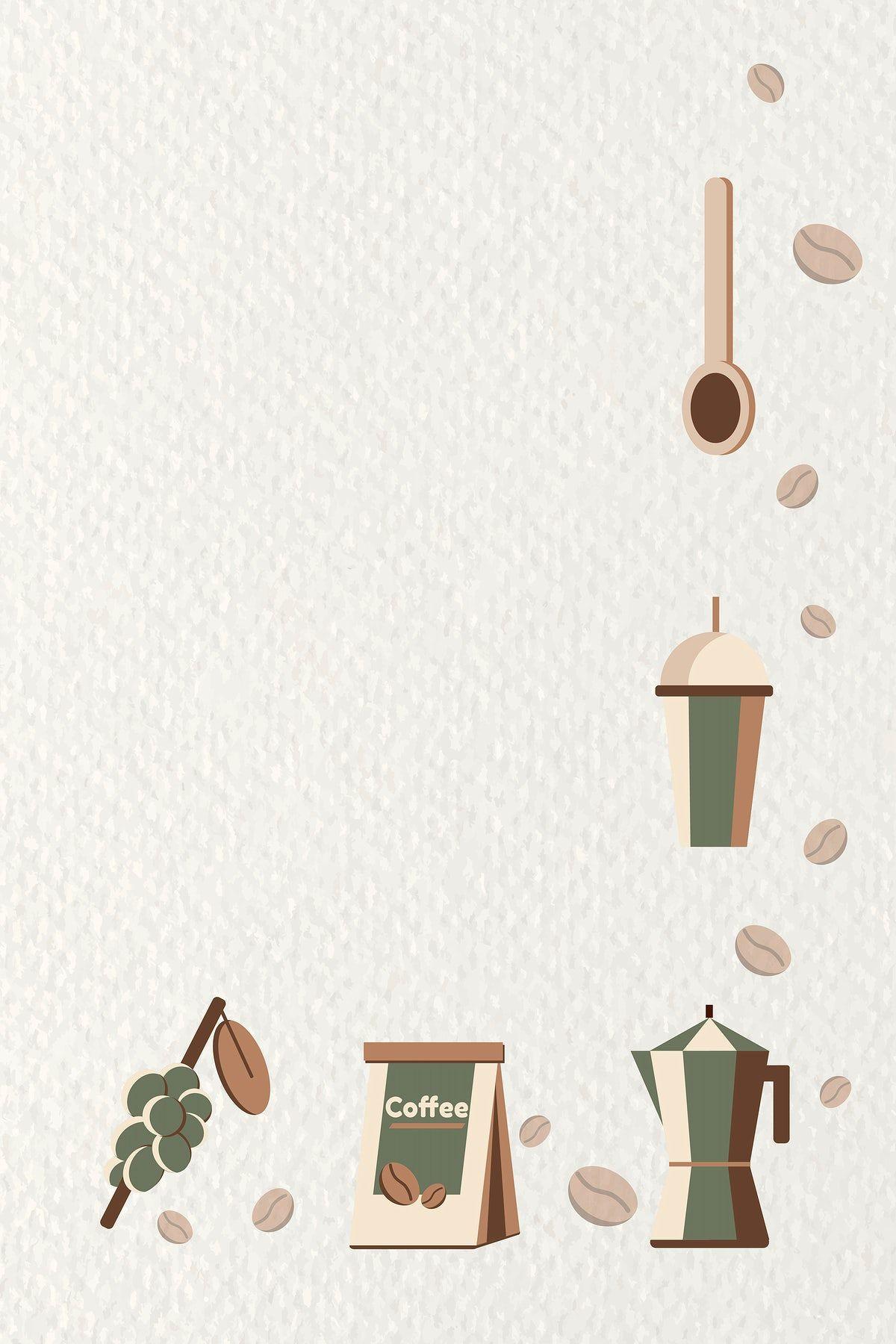 Download Premium Vector Of Coffee Poster Design Template Vector 1180455 In 2021 Coffee Poster Design Coffee Poster Poster Design
