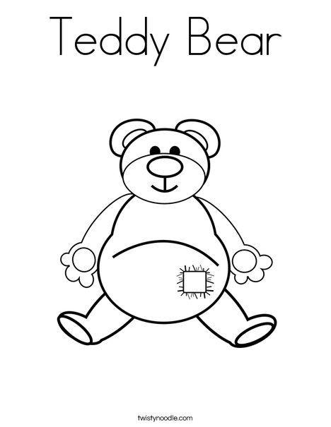 Teddy Bear Coloring Page Teddy Bear Coloring Pages Bear Coloring Pages Coloring Pages