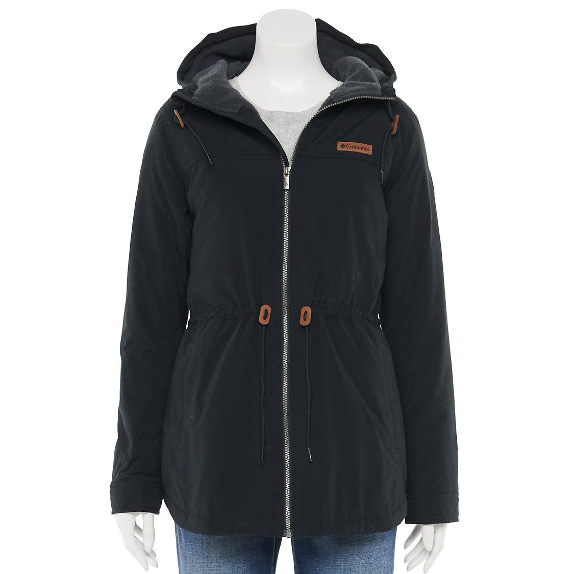 Women S Columbia Chatfield Hill Print Sherpa Lined Jacket Hooded Anorak Jacket Anorak Jacket Jackets [ 1125 x 1125 Pixel ]