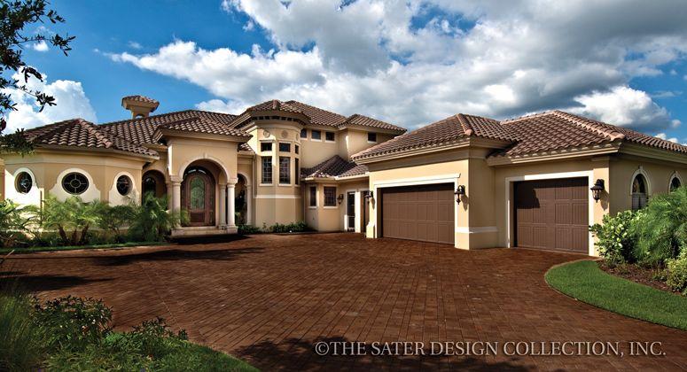 Gabriella House Plan Luxury House Plans Mediterranean Style House Plans Mediterranean House Plan