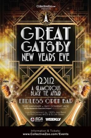to roll out red carpet for a great gatsby new years eve