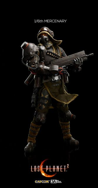 Toyhaven Preview Threea 3a Lost Planet 2 1 6 Scale Mercenary 12 Inch Figure It Is Just Wow Capcom Fun Comics Planets