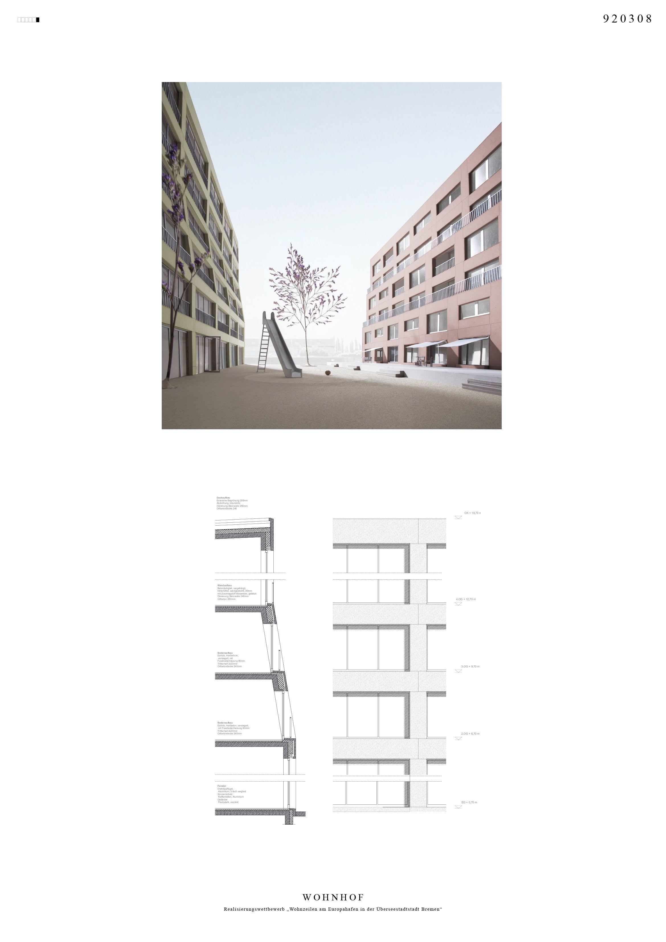 Wohnhof C Felgendreher Olfs Kochling Architektur