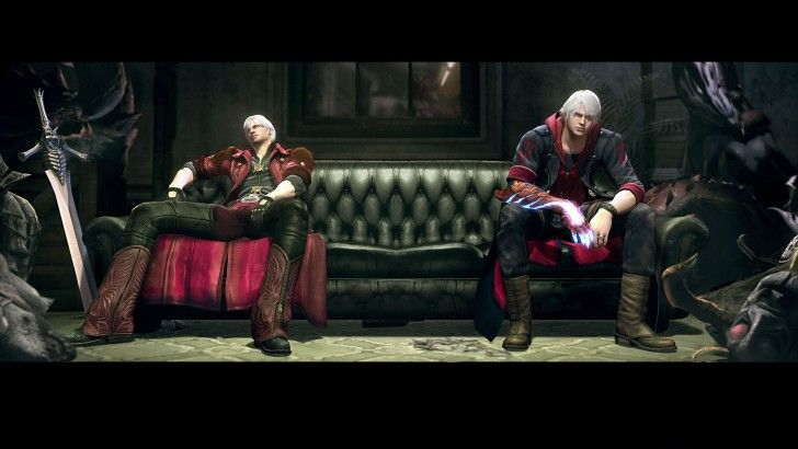 Download Devil May Cry 4 Dante and Nero Game 1920x1080