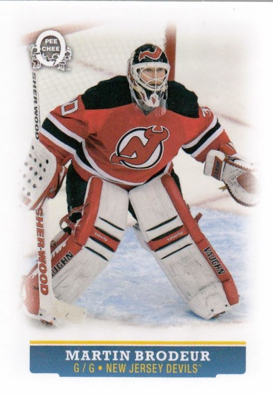 15 16 Opc Mini Glossy Martin Brodeur No 39 Hockey Cards New