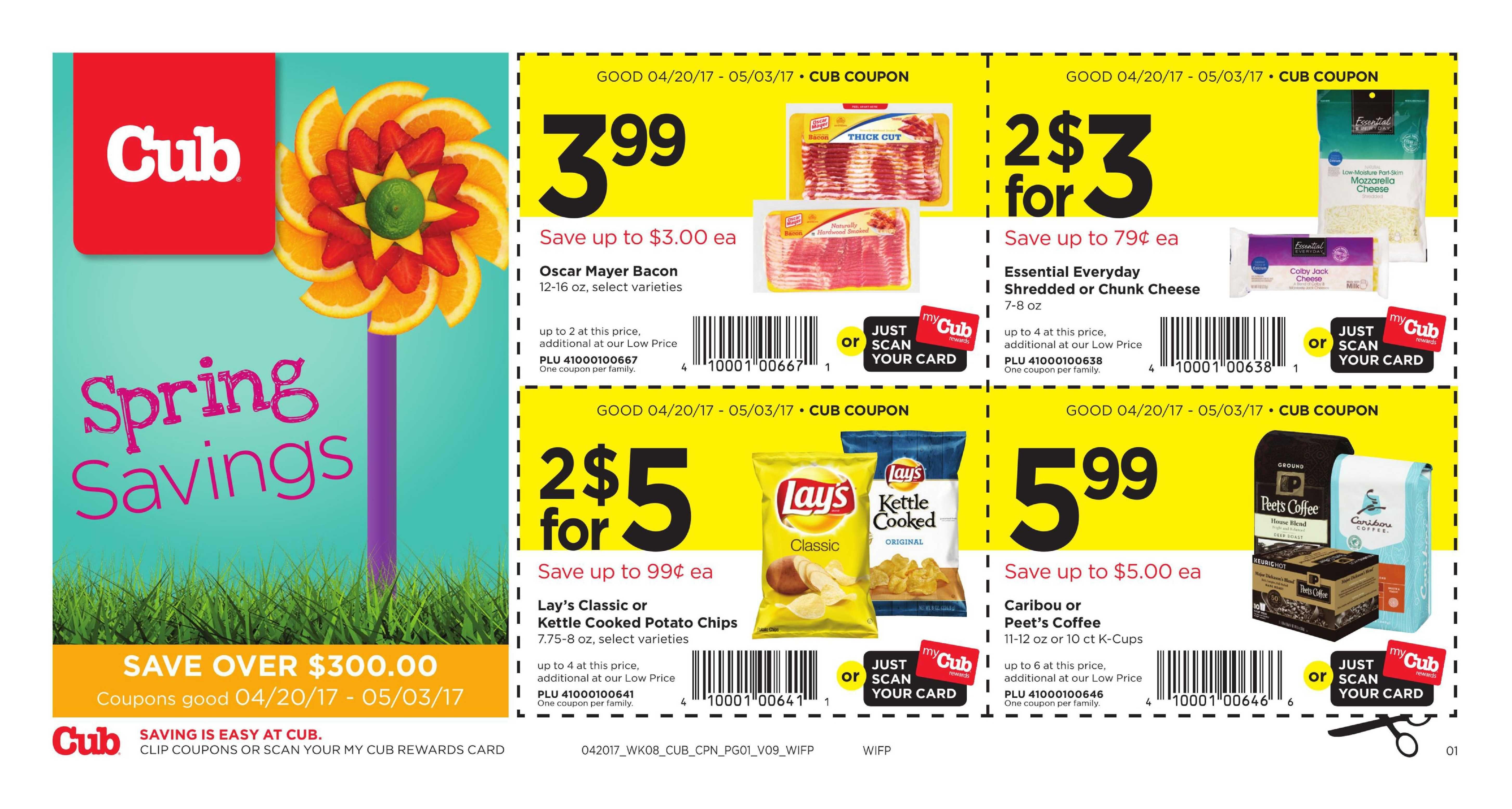 Cub Foods Coupon April   May    HttpWwwOlcatalogCom