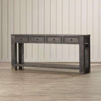 Calvin 64 Console Table Console Table Hallway Console Table Loft Interior Design