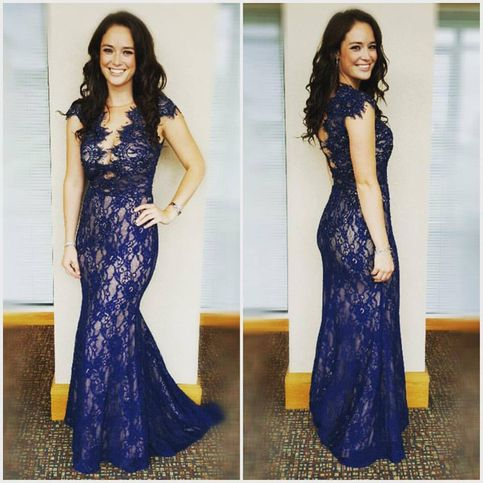 The Prom dress can be made in custom size& custom color,and it will ...