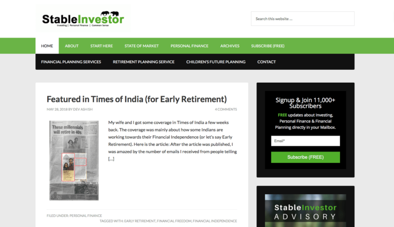 7 Best Indian Stock Market Blogs to Follow   y   Stock