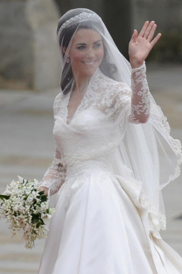 Die schönsten Brautkleider der Hollywood Stars | Kate middleton ...