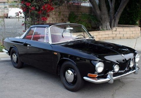 1966 Volkswagen Karmann Ghia Type34 Sunroof Coupe Front